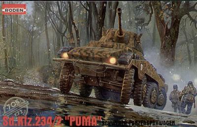 705 - German Sd.Kfz.234/2 1/72