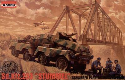 706 - German Sd.Kfz.233 1/72