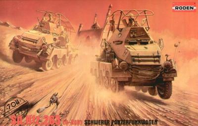 708 - Sd.Kfz.263 Schwerer Panzerfunkenwagen 1/72