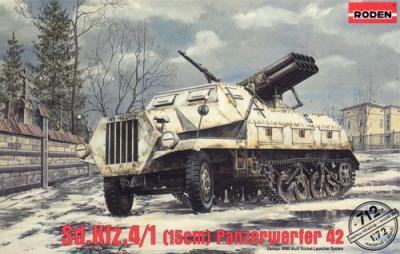 712 - Sd.Kfz.4/1 Panzerwerfer 42 (early) 1/72