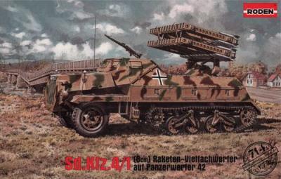 714 - Sd.Kfz.4/1 (8cm) Raketen-Vielfachwerfer auf Panzerwerfer 42 1/72