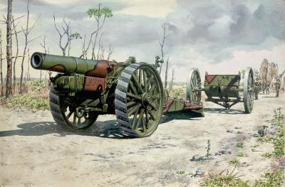 716 - BL 8-inch Howitzer Mark VI 1/72