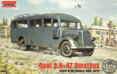 720 - Opel 3.6-47 Ominbus type W.39 Ludewig-built early 1/72