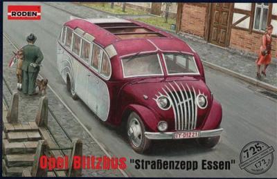 725 - Opel Blitzbus 'Straßenzepp Essen' 1/72
