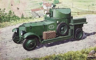 731 - Rolls Royce Armoured Car (1920 Mk.II Pattern) 1/72
