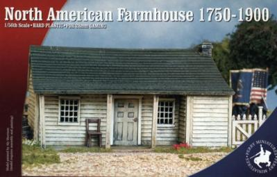 RPB1 - North American Farmhouse 1750-1900 28mm