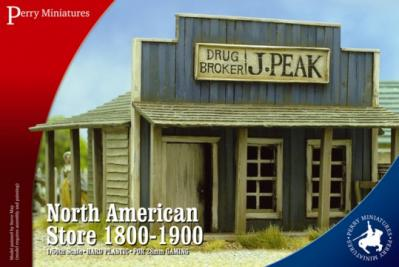 RPB2 - North American Store 1700-1900 28mm