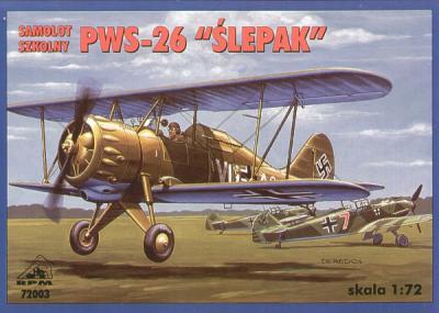 72003 - PWS 26 'Slepak' Luftwaffe 1/72
