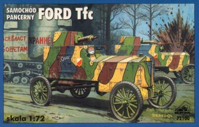 72100 - Ford model T armoured car 1/72