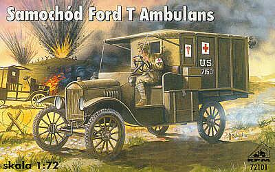 72101 - Ford Model T ambulance 1/72
