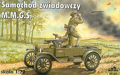 72102 - Ford model T M.M.G.S. 1/72