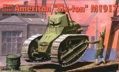 72207 - American 6 ton tank 1917 late version 1/72