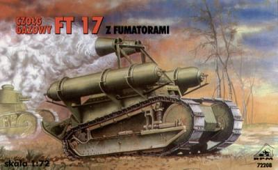 72208 - Renault FT-17 smoke screen tank 1/72