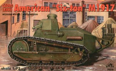 72210 - American 6 ton tank 1917 early version 1/72