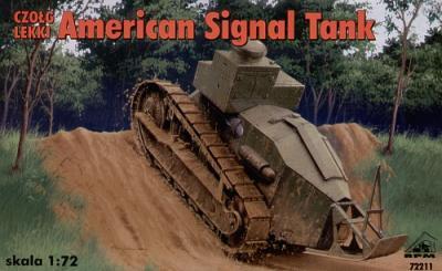 72211 - American signal tank 1917 1/72