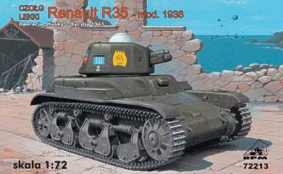 72213 - Renault R35 late version (Sicily - 1943) 1/72