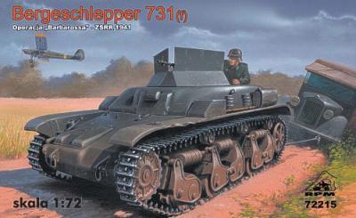 72215 - Bergeschlepper 731(f) (Soviet Union 1941) 1/72