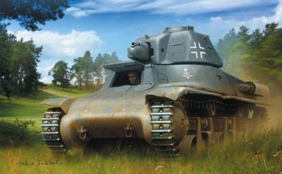 72220 - Pz.Kpfw 38H 735(f) in Wehrmacht service 1/72