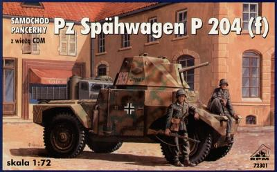 72301 - Armoured car Pz.Spaeh P204 1/72
