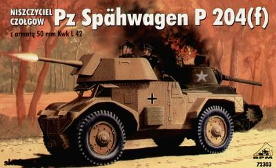 72303 - Tank Destroyer 500mm L42 on Pz.Spaeh P204 (f) chassis 1/72