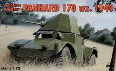 72304 - Armoured car AMD Panhard wz 1940 with Renault turret 1/72