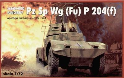 72305 - Panzer Sp Wg (Fu) P204 (f) 1/72