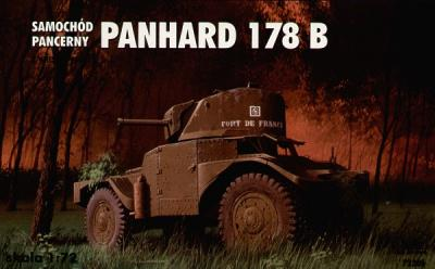 72306 - Armoured Car Panhard B with turret FL178 1/72