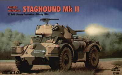 72310 - Staghound Mk.II. 1/72
