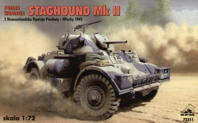 72311 - Staghound Mk.II. 1/72