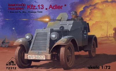 72312 - Armored car Kfz.13 'Adler' 1/72