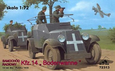72313 - Radio Car Kfz.14 'Adler' 1/72