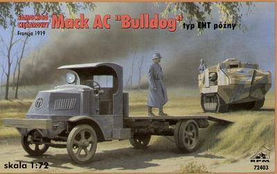 72403 - Mack AC 'Bulldog' Truck type EHT 1/72