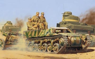 72507 - Artilery tractor Lorraine 37L (Afrika - 1942) 1/72