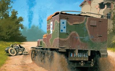 72508 - Tracteur blinde Lorraine 38L VBCP (France - 1940) 1/72