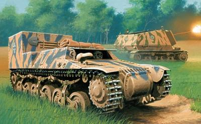 72509 - Armored tractor SdKfz 135 (Normandy - 1944) 1/72