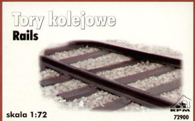 72900 - 18cm of Railway track 1/72