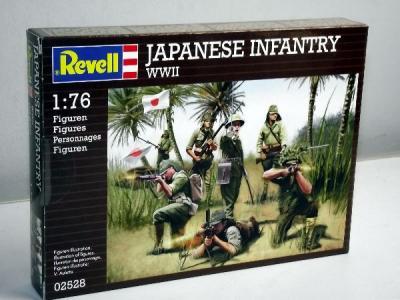 2528 - Japanese Infantry 1/76