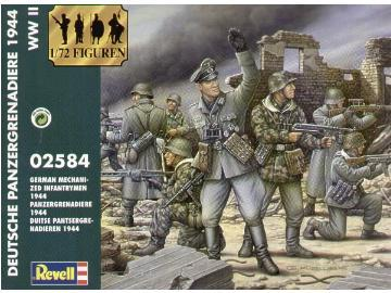 2584 - German Mechanized Infantry 1944 1/72