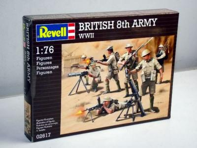 2617 - British 8th Army 1/76
