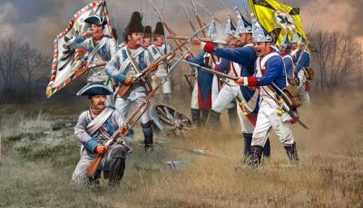 2452 - Seven Years War (Austrian & Prussian Infantry) 1/72