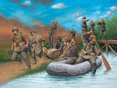 2508 - German Pioneers WWII 1/72