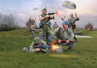 2532 - German Paratroopers WWII 1/72
