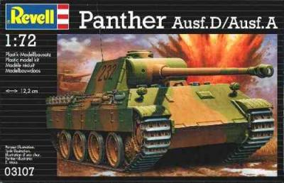 3107 - Sd.Kfz.171 Ausf.A/D Panther 1/72