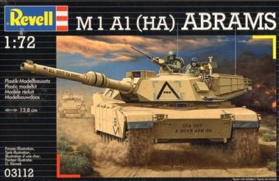 3112 - M1 A1 (HA) Abrams 1/72