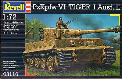 3116 - Pz.Kpfw.VI Tiger I Ausf.E 1/72
