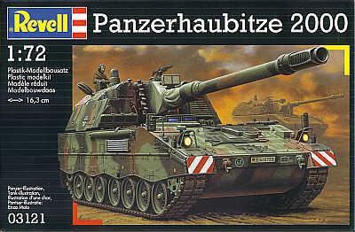 3121 - Pz.Kpfw.haubitze PzH 2000 1/72