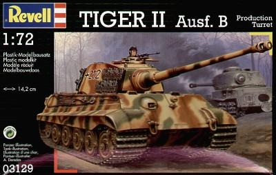 3129 - King Tiger Sd.Kfz.182 1/72
