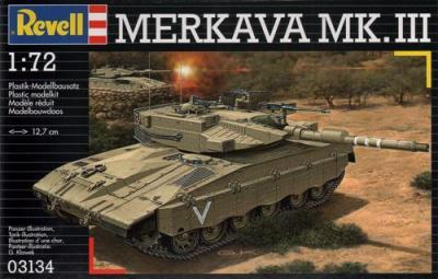 3134 - Israeli Merkava Mk.III 1/72