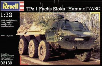 3139 - TPz 1 Fuchs Eloka 'Hummel'/ABC 1/72