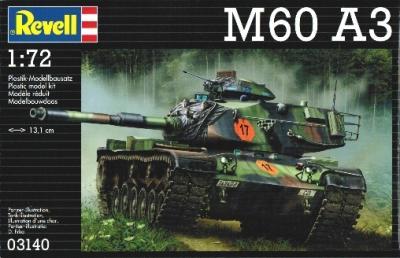 3140 - U.S. M60-A3 Medium Tank 1/72